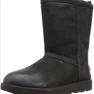 UGG Classic Short leather waterproof boot